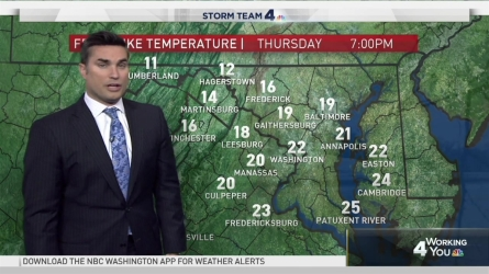 <p>Storm Team4 Chief Meteorologist Doug Kammerer is tracking the cold weather.</p>
