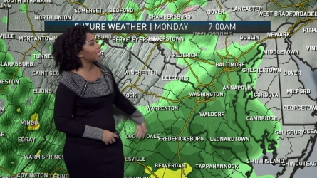 <p>More clouds with lows in the 30s tonight. Highs on Monday will be in the low to mid 50s</p>