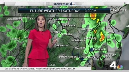 <p>Storm Team4's Amelia Draper has your weekend forecast.</p>