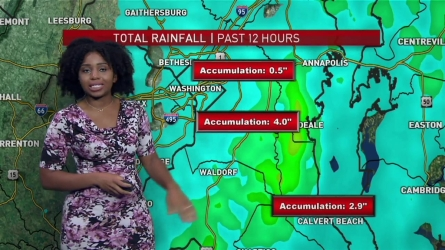 <p>Tonight, a few heavy showers will linger and humid conditions remain. Flooding is still a major concern.</p>