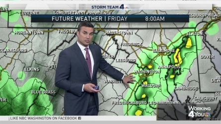 <p>Storm Team4 Chief Meteorologist Doug Kammerer says some rain will come through Thursday, but there's a higher chance for rain on Friday.</p>