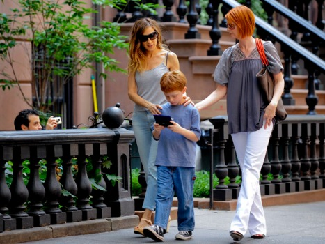 Cynthia Nixon and Sarah Jessica Parker Now Neighbors