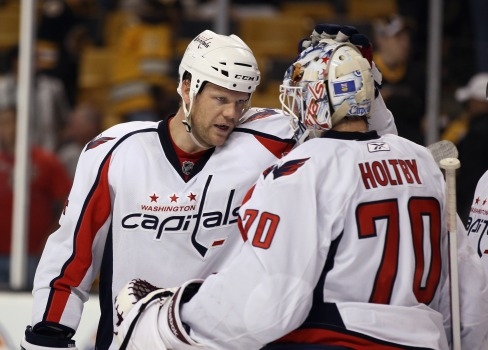 Caps Re-Sign Holtby, Erskine To Two-Year Deals