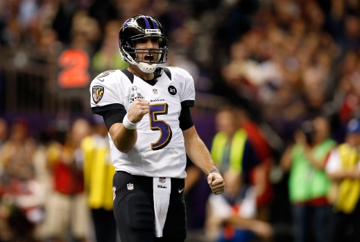 Joe Flacco Celebrates New Contract With McNuggets