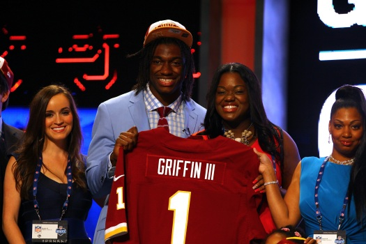 Griffin III Making Jersey History
