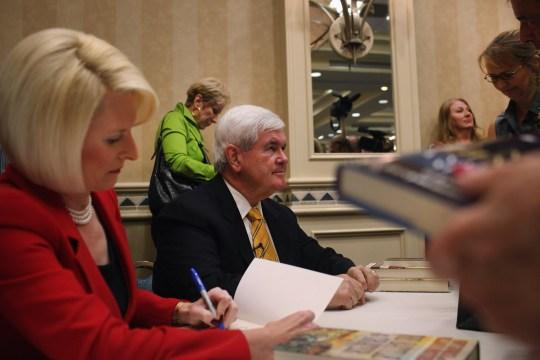 Newt Cancels D.C. Book Signing
