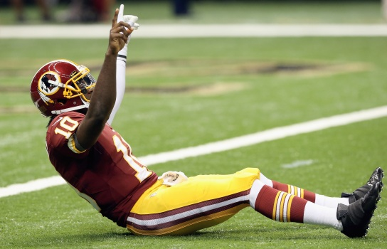 RGIII Dominates In 'Skins Week 1 Win