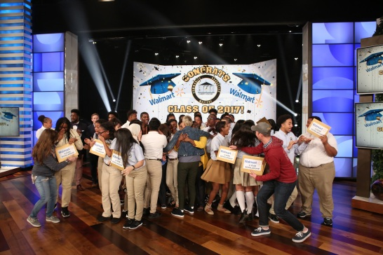 Ellen Degeneres Surprises NYC Students With College Tuition
