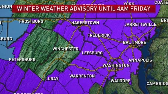 Late Weather Forecast Jan 17 2019 Nbc4 Washington