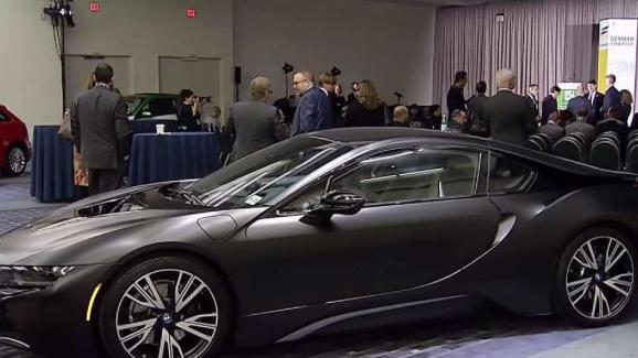Latest German Electronic Cars At The Washington Auto Show NBC - Washington car show discount tickets
