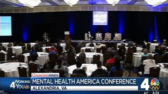 Angie Goff Participates In Mental Health America Conference Nbc4