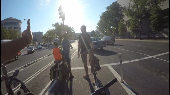 Handlebar View Dangers Cyclists Face On DC Roads NBC Washington - Dc roads