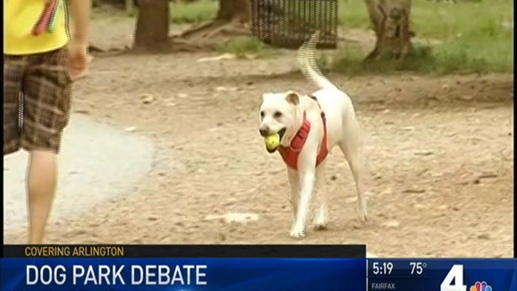 Arlington Dog Park Could Be Cut in Half