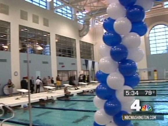 26m Swimming Pool Opened At Wilson High Nbc4 Washington