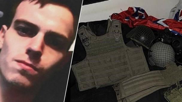 US Attorney: White Nationalist Suspect Had Nazi Flag, Ammo
