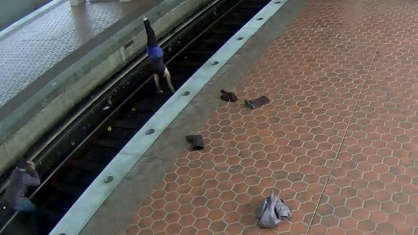 Woman Arrested for Doing Yoga on Metro Tracks: PD