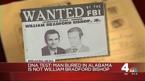 FBI: Body Exhumed in Ala. Not Bishop