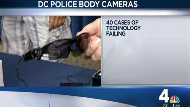 DC Police Review Finds Cases Where Body Cams Failed or Weren't On