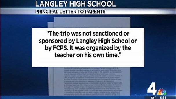 New Questions Involving Scandal at Fairfax Co. High School