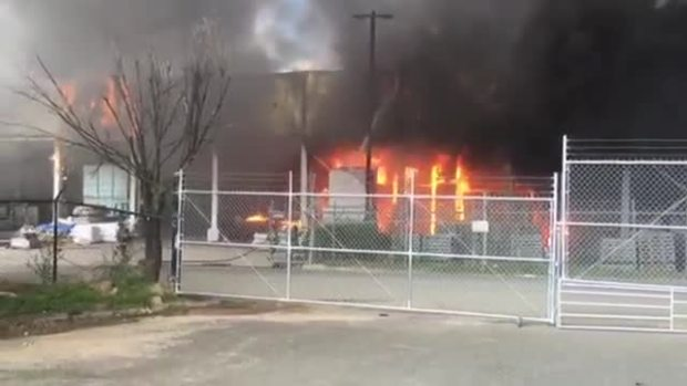 Raw Video: Prince George's County Commercial Building Fire