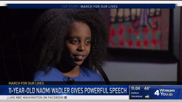 [DC] 11-Year-Old Activist: 'I Felt Like This Is the Beginning'