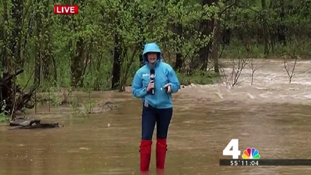 [DC] Areas of Virginia Flooding in Heavy Rain