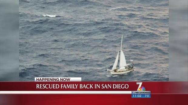 [DGO]Baby Rescued at Sea Returns to San Diego
