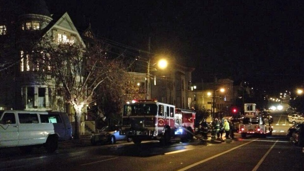 [BAY] 2 Injured in 3-Alarm Fire North of the Panhandle