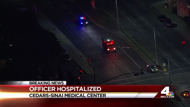 """[LA] Officer Who Survived LAPD Station Shooting """"Very Lucky"""": Chief Beck"""
