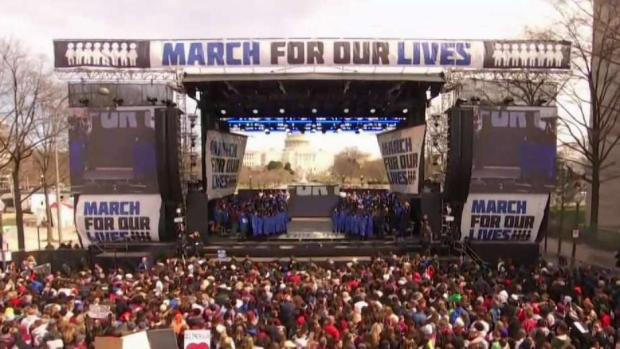 [DC] 1 Year After After Parkland, Bethesda Students Honor Teen Gun Violence Victims