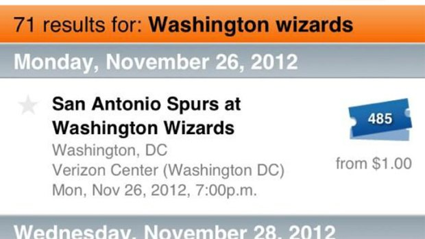 Cheap Wizards Tix on Stubhub Not Anomaly - Surprisingly