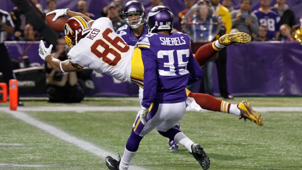 Vikings 34, Redskins 27