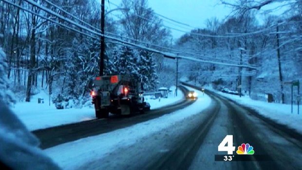 [DC] Arlington County Snowplow Driver Removed From Duty for Plowing in Wrong Lane
