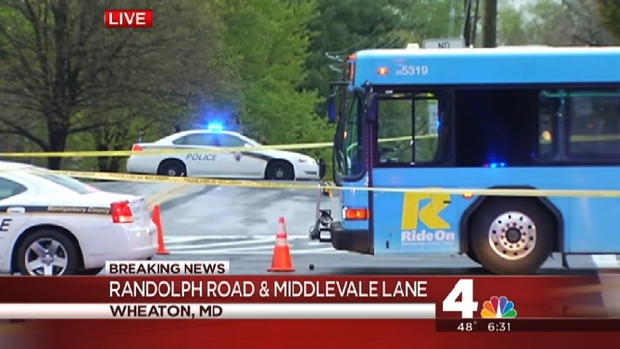 [DC] Woman Hit by Ride On Bus in Md.