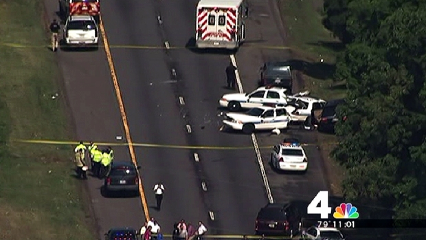 [DC] Prince George's County Officer Hit By Minivan, Seriously Injured