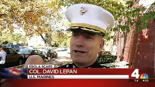 [DC] Marines Talk About Ebola Scare on Bus From Pentagon to Military Ceremony