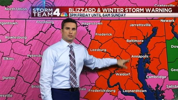 Mid-Afternoon Forecast, Jan. 22