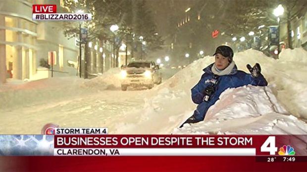 [DC] What Blizzard? Arlington Residents Crowd Clarendon Bars