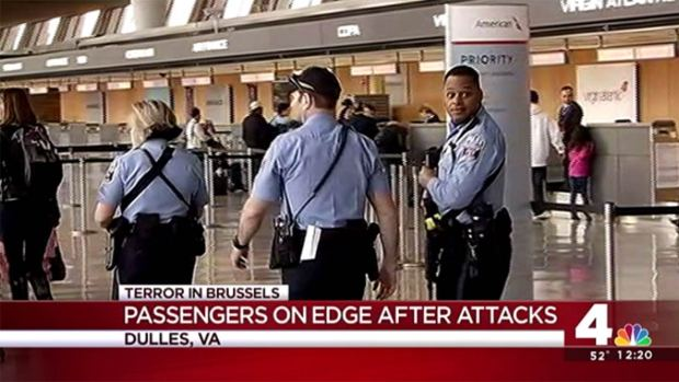 [DC] Increased Security at Local Airports