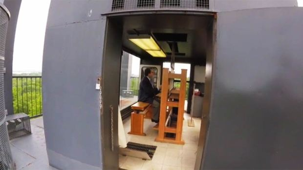 [DC] WATCH: Musician Plays Bells High Atop Carillon