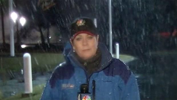 Snow Falls in Frederick