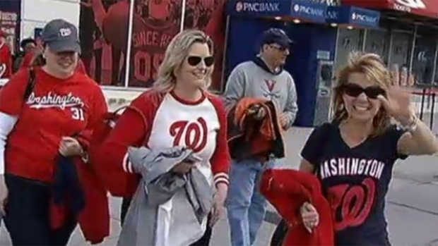 Nats Focus on Their (Many) Female Fans