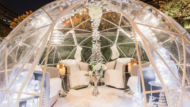 You'll Melt for The Watergate's Cozy (& Pricey!) Igloos