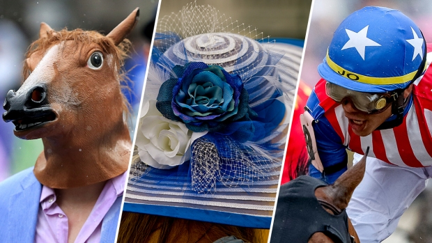 [NATL] Horses and Hats: 2018 Kentucky Derby in Photos