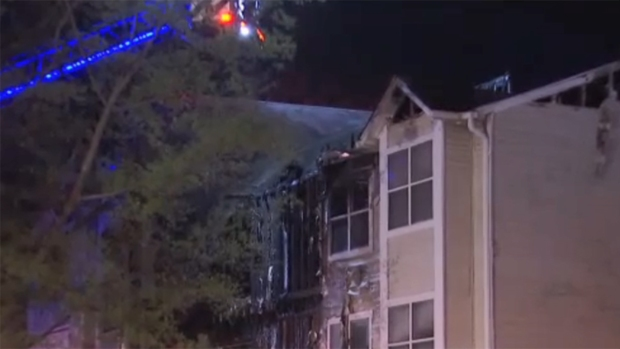 [DC] One Dead After Apartment Fire