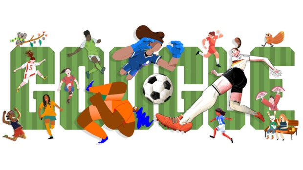 Top Google Doodles: Women's World Cup Kicks Off