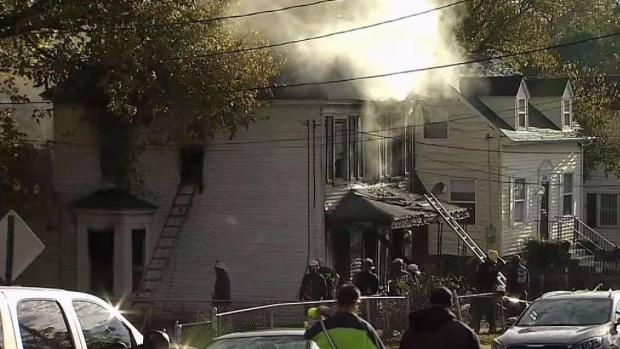 [DC] 2 Found Dead Inside Vacant Home After Massive Fire