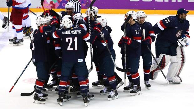 [NATL-SOCHI] Instant Olympic Classic: U.S. Beats Russia in Hockey