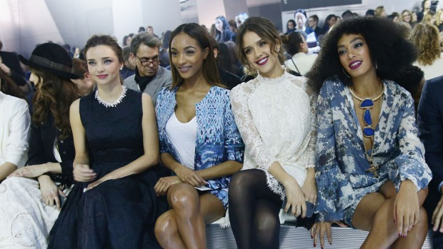 [NATL] Celebrities in the Front Row: Fall 2014