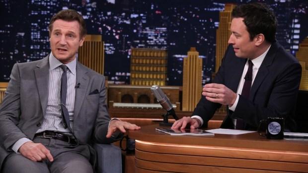 "[NATL] Liam Neeson Talks ""Family Guy"" Diss on ""The Tonight Show"""